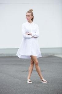 weißes Traum-Hemdkleid 'Emma'